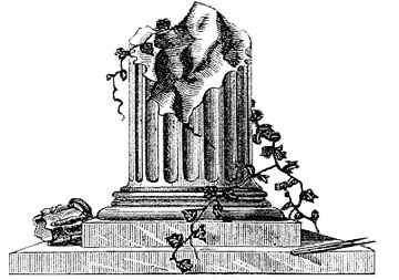 broken column